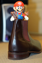 Mario's new home (david_a_l) Tags: new home boot bed williams super mario redux rm bandofr