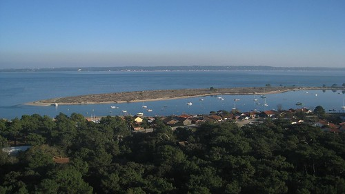 View of the bay from atop the lighthouse
