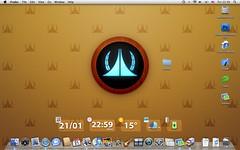 My Mac Desktop (psy2k) Tags: apple macintosh mac toast leopard panic macosx macos xcode coda transmit walle statoo
