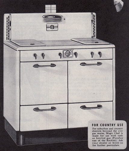 1938 Magic Chef Range