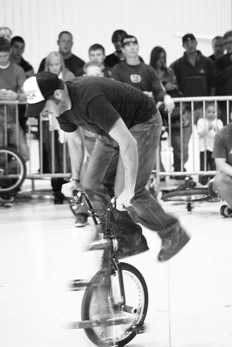 Some kind of crazy flatland stuff