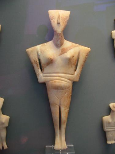Minoïsch beeldje: waar haalde Picasso zijn mosterd ?