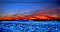 Sunset (Barbynikon) Tags: world sunset red sun snow rot yellow d50 reflex nikon tramonto nuvole colore foto blu digitale natur sigma natura cielo neve luci bella azzurro riflessi luce paesaggio ghiaccio pianeta