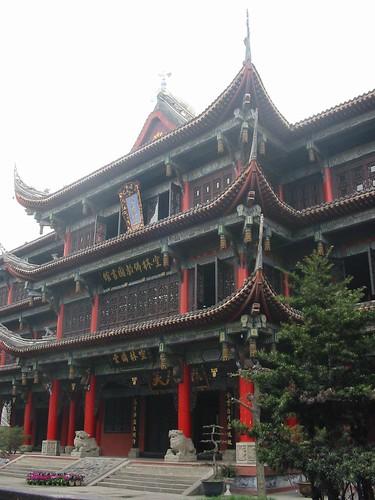 Typische Chinese tempeldakjes