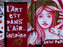 ART  RESPIRER (robinya) Tags: paris art colors couleurs tag murales colori parigi 75019 parisstreetart inspirer ourq respirer 19eme lartestdanslairinspire streetart jadoremonquartier