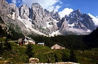 Val Venegia, le Pale di San Martino di Castrozza - Agosto 1977