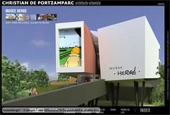 museoherge1 - modello