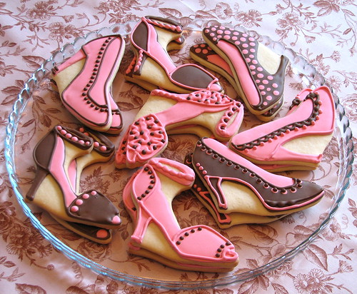 Stiletto & Slingback Shoe Cookies