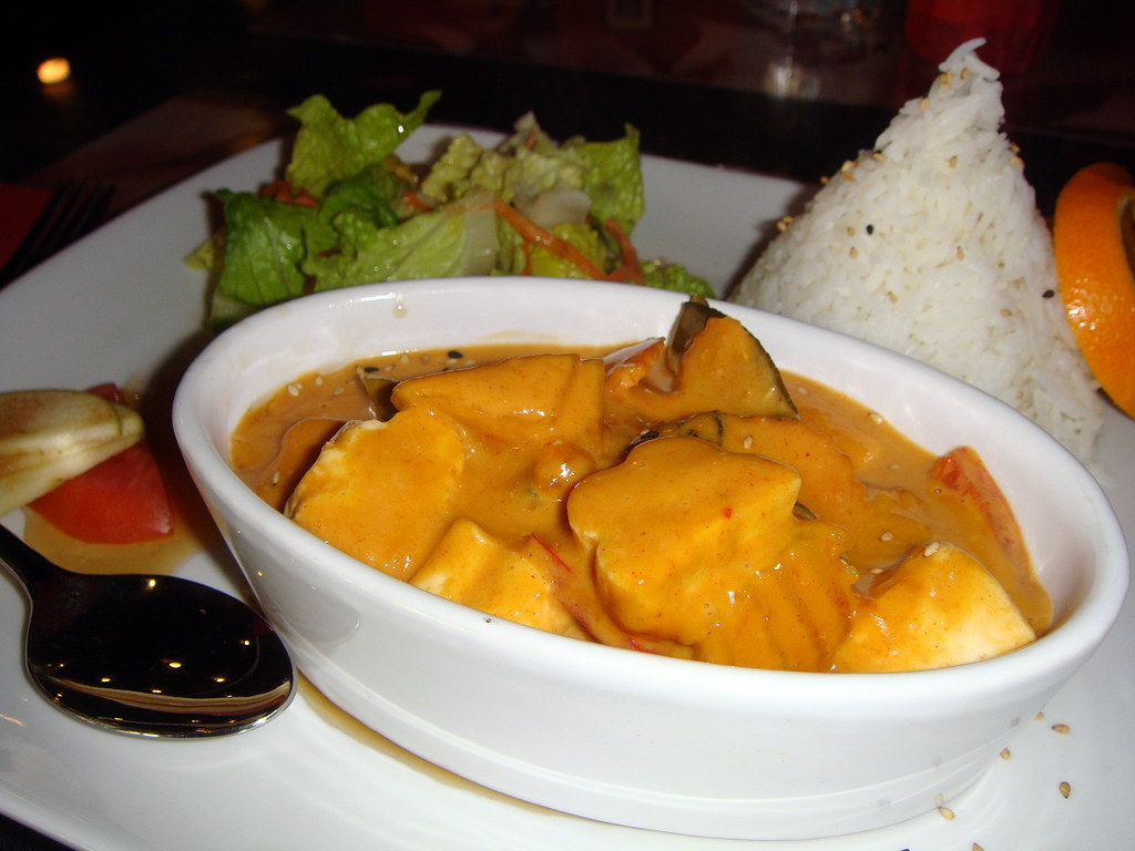 Pumpkin Curry with Tofu