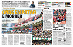 My Photos Posted on Portuguese Sport Newspaper (OJOGO) (Libyan Soccer Photography) Tags: portugal newspaper football stadium soccer press libya tripoli derby bashar     alittihad  11june alahly ittihad ojogo    bentaher   sheglila