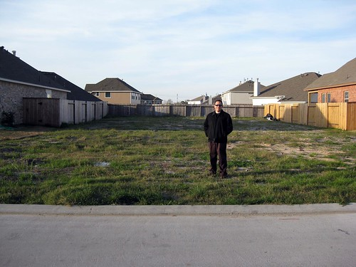 Jose and the Site of our Future House!