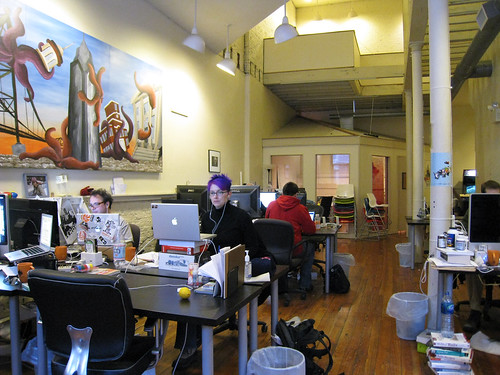 co-working @indyhall