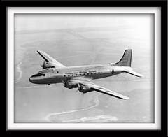 Douglas DC-4 (twm1340) Tags: dc piston douglas americanairlines aa prop airliner skymaster dc4 c54 recip c54b