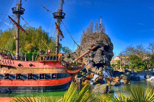 DLP Feb 2009 - Adventure Isle, Skull Rock, and Captain Hook's Ship