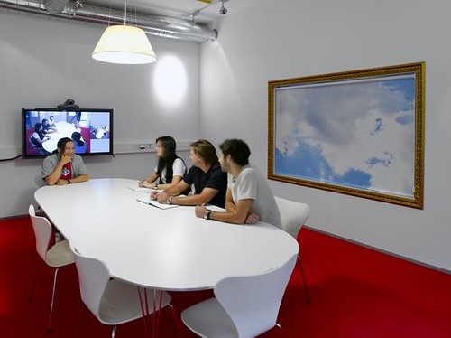LEGO Development Department Interior Design by Bosch & Fjord Architecture Conference Room
