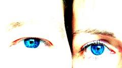 Augen (ziso) Tags: highkey blau auge