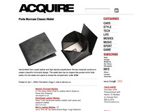Porte Monnaie Classic Wallet - Acquire_1238722277294