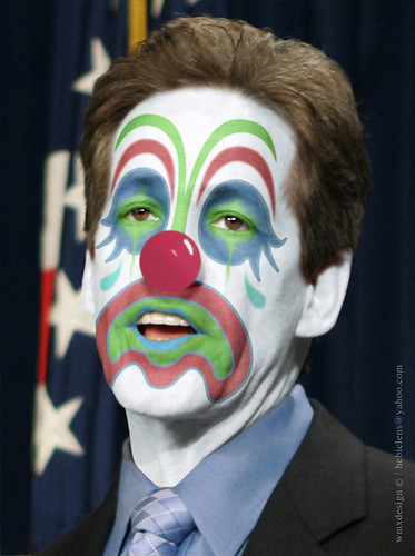Norm Coleman (??? R-MN):: Obstructionist Republican Clown by Hebiclens / WMxdesign.