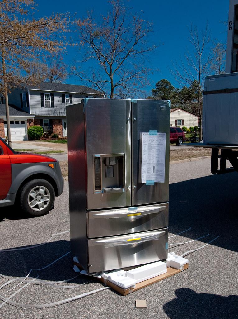 lg icebeam door cooling fridge manual