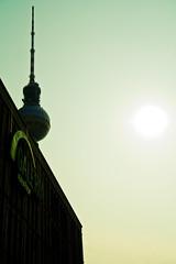 Fernsehturm (banjira!) Tags: berlin germany deutschland alexanderplatz fernsehturm turm mitte deutschetelekom invitedby