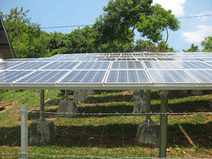 Photovoltaic Array for Kidang Village, Lombok Indonesia