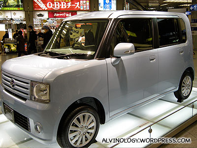 The Nissan Cube - the most popular car in Japan