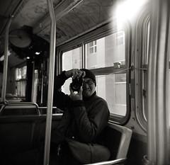(AlanDejecacion) Tags: sanfrancisco california film me holga toycamera plastic muni hp5 publictransport photobyzoe photographbyzoe onthe49 holgabyzoe holgashotbyzoe