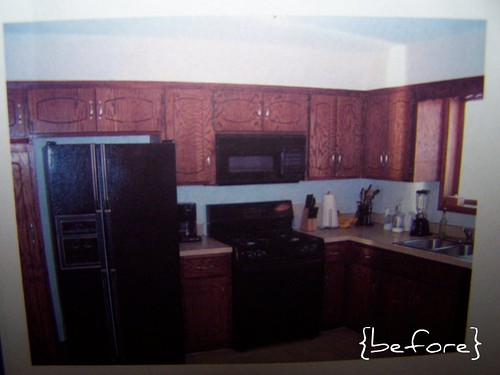 kitchen remodel {BEFORE}