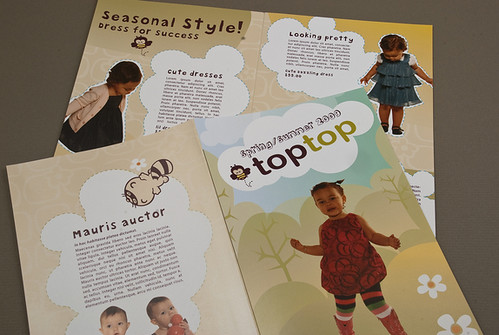 Cute Kids Apparel Brochure