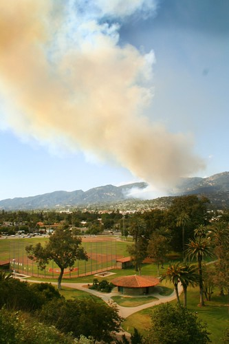 Jesusita Fire from SBCC