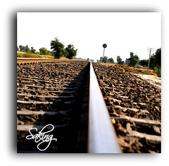 I m waitting U (Saking--Little Busy) Tags: train way track full saqib stright saking mywinners concordians rubyphotographer kingloi leanth stunningwisdom