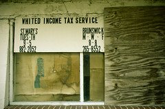 Income Tax Service Currently Unavailable (smallsphotography) Tags: photoshop tax taxes taxservice
