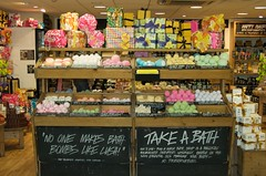 London 09 - 172 - No one makes bath bombs like lush! Take a Bath! (drakoon) Tags: colour london one soap bath raw no like take makes lush bombs