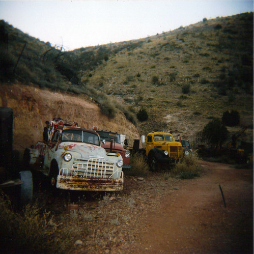 Jerome Trucks -Holga - 9/365