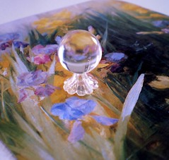 Fairy Enchanted Clear Crystal Ball on Delicate and Lacey Flower Base (Enchanticals~ Death in Family) Tags: flowers flower glass floral miniature handmade witch dam magic spirits plastic clear fairy fantasy ghosts lacey marbles collectible etsy fairies delicate magical 112 collectibles enchanted dollhouse dioramas crystalball psychics fluted divination crystalballs onetwelfthscale etsyteams minimakers faeteam damteam enchanticals miniaturedollhousescale