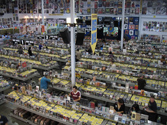 Amoeba Music Interior - Hollywood
