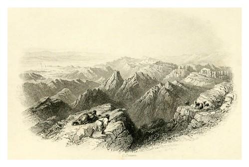 023-Vista desde el monte Hor-Bartlett, W. H. 1856