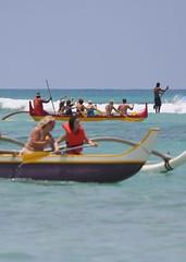 sea hawaii boat surf waikiki canoe honolulu outrigger