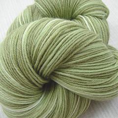 """Sage"" Naturally Dyed Bamboo/Merino Sock (wordgirlie) Tags: plant wool sock natural merino bamboo sage etsy dye fingering blend sockyarn handdyedyarn spacedyed wahm naturaldye hyenacart alfabette zoope alfabettezoope alphabette"