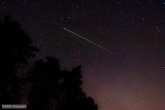 ISS Salvaged (eaglekepr) Tags: trees sky plants lake tree beach wisconsin night stars unitedstates iss efs1022mmf3545usm canoneos30d sugarcamp