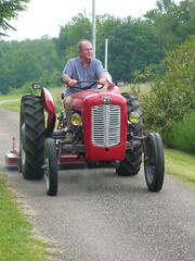 Happiness is a working tractor!