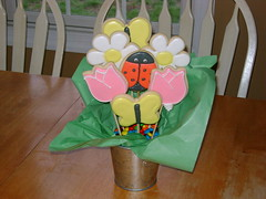 Spring Cookie Bouquet (gensler97) Tags: spring cookie bouquet