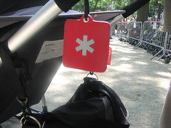Skip Hop stroller/luggage tag