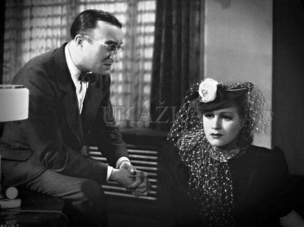 Oldřich Nový a Adina Mandlová vo filme Kristián (1939).
