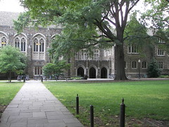 The old Library at Duke University
