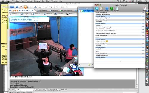 nadine, webcam by you.
