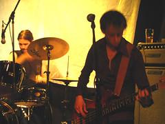 camerooni 033 (tripping hazard (the band)) Tags: music toronto maryjanes redhair cameronhouse yellowlight trippinghazard friendswatching