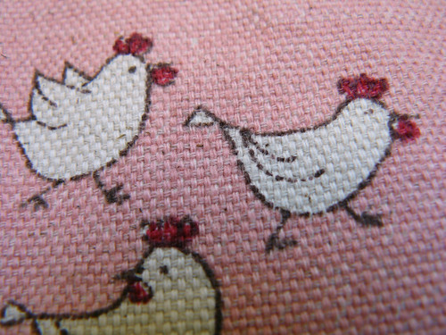 Chicken pants - detail