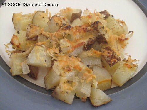 Parmesan and Onion Potatoes