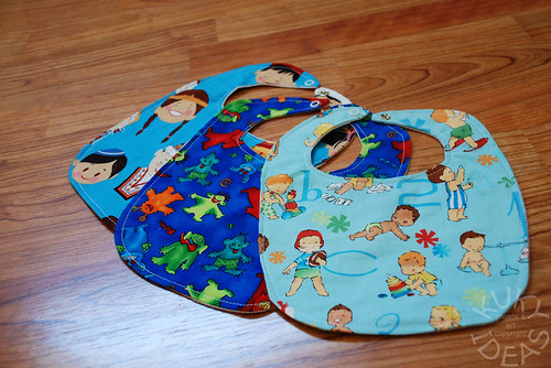 Bibs for baby shower